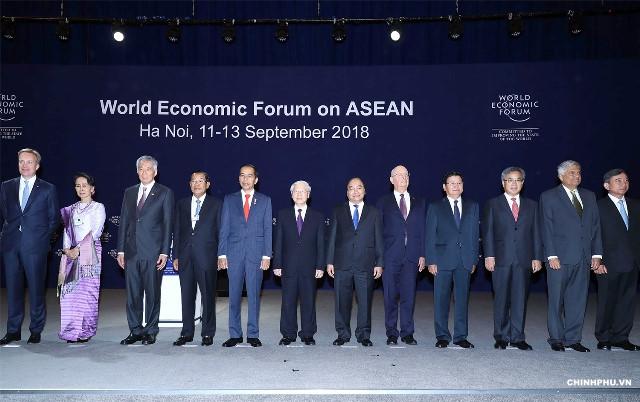 WEF ASEAN 2018 và những ưu tiên của cộng đồng ASEAN trong CMCN 4.0