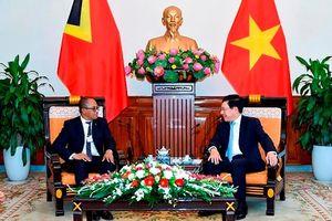 Việt Nam - Timor Leste: Thúc đẩy hợp tác cả về song phương và đa phương