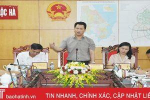 Chủ tịch UBND tỉnh: Lộc Hà có thể đạt huyện nông thôn mới vào năm 2020