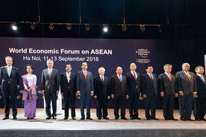 Bế mạc 'ngày hội giao lưu ý tưởng' WEF ASEAN