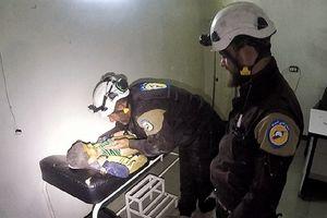 White Helmet dựng xong tấn công hóa học, Tomahawk bay vào Syria?