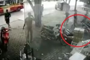 Người đàn ông rơi từ tầng 3 xuống đất và thoát chết bất ngờ