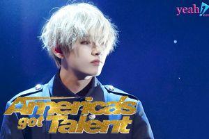 V (BTS) khiến fan thế giới náo loạn tìm 'anh chàng vest đen tóc bạch kim' khi biểu diễn tại 'America's Got Talent'