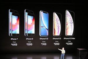 Giá bán 'chát chúa' của iPhone Xs, iPhone Xs Max và iPhone Xr