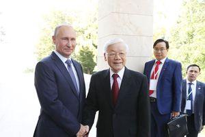 Việt Nam - Thành công đầu tiên của Nga trong 'Tháng hướng Đông'