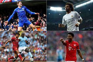Top10 hậu vệ trái hay nhất thế giới: Marcelo số 1