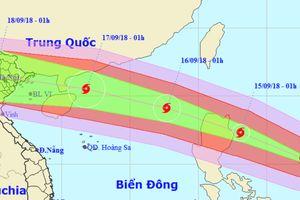 Siêu bão Mangkhut vào Biển Đông sẽ gây gió giật 200 km/h