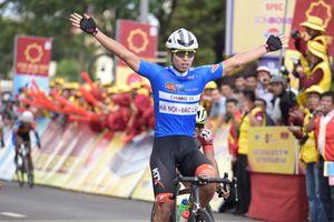 Thứ tự không đổi sau chặng 12 giải đua xe đạp VTV Cup 2018