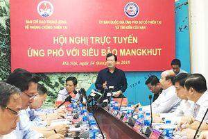 27 tỉnh, thành phố sẵn sàng ứng phó siêu bão Mangkhut
