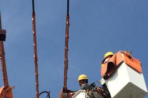 Bảo đảm cấp điện an toàn trong mùa mưa bão