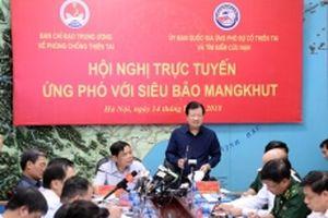 Không c ch quan khi ng phó vi siêu bão Mangkhut