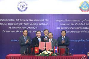Hợp tác khoa học và công nghệ Việt Nam và Lào ngày càng thiết thực