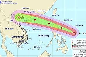 2 kịch bản về đường đi của siêu bão Mangkhut