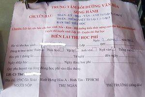 Quận Bình Tân sẽ thực hiện nhiều biện pháp chống dạy thêm không phép