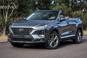 Choáng ngợp với vẻ đẹp của Hyundai SantaFe bản mui trần