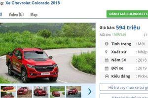 Giá từ 594 triệu, ô tô bán tải của Chevrolet bán chạy nhất Việt Nam