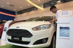 Ô tô lắp ráp sụt giảm doanh số trong tháng ngâu