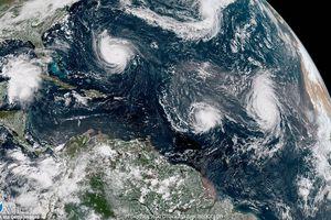 9 cơn bão cùng lúc xuất hiện: 'Đây không phải chuyện bình thường'