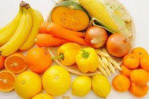 Ăn rau củ màu vàng, màu cam, điều kỳ diệu đến với cơ thể