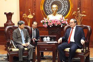 TP. Hồ Chí Minh mong muốn Nhật Bản chia sẻ kinh nghiệm xây hồ điều tiết chống ngập