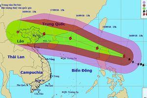 Siêu bão Mangkhut cách o Luzon 360km, hng v biên gii Vit-Trung