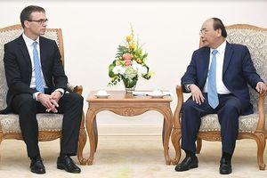 Thủ tướng Nguyễn Xuân Phúc tiếp Bộ trưởng Ngoại giao Estonia