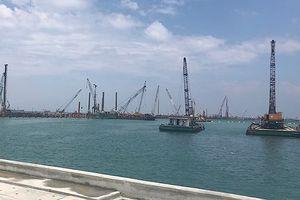 Quảng Ngãi xin phép nhận chìm ở biển 15,5 triệu m³ vật chất nạo vét