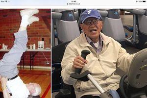 Bí quyết sống thọ khỏe mạnh của cụ ông 111 tuổi