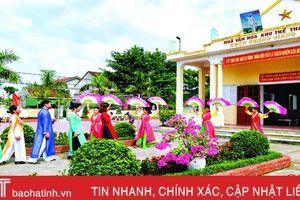 Hà Tĩnh phát huy nội lực văn hóa để xây dựng nông thôn mới