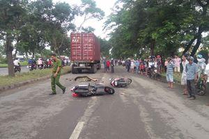 Cô gái bị container cán tử vong trên đường về nhà bạn trai ra mắt