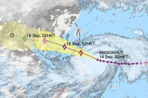 Chiều nay, siêu bão Mangkhut tiến vào Biển Đông; Quảng Ninh, Hải Phòng ra công điện khẩn