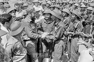 'Vì Việt Nam, Cuba sẵn sàng hiến dâng cả máu của mình'