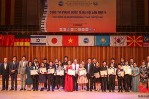 Bế mạc và trao giải Cuộc thi Piano Quốc tế Hà Nội lần thứ IV 2018