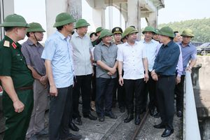Phó Thủ tướng Trịnh Đình Dũng: Tuyệt đối không được chủ quan, lơ là phòng, chống bão số 6