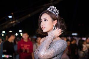 Đỗ Mỹ Linh run rẩy và hồi hộp tại chung kết Hoa hậu Việt Nam 2018
