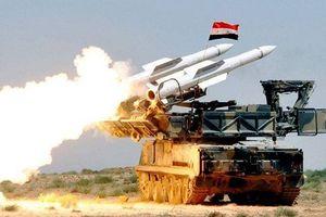 Quân đội Syria 'đáp trả' sự tấn công của Israel trên bầu trời Damascus