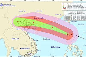 Hoàn lưu bão số 6 sẽ gây mưa cho các tỉnh Bắc Bộ