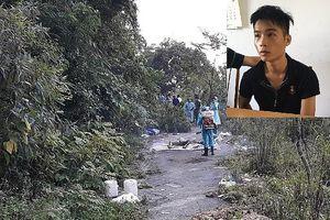 Vụ giết tài xế cướp xe: Nghi phạm 'đập đá' trước khi gây án