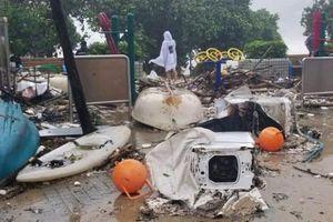 Hình ảnh siêu bão Mangkhut tấn công Trung Quốc