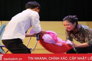 Xuân Giang nhất hội thi 'Hòa giải viên giỏi' huyện Nghi Xuân