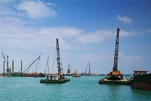 Quảng Ngãi xin nhận chìm 15,5 triệu m3 chất nạo vét cho dự án thép Hòa Phát Dung Quất