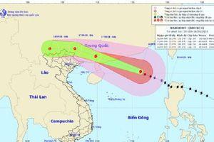 Bão Mangkhut đang tiến vào Trung Quốc và suy yếu dần