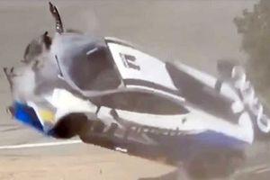 Clip Lamborghini Huracan gặp tai nạn trên đường đua Laguna Seca