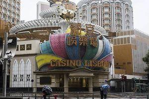Macau (Trung Quốc) đóng cửa toàn bộ sòng bạc vì bão Mangkhut