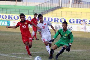 U19 Việt Nam thua đậm trong trận ra quân trước Qatar ở giải giao hữu Tứ hùng