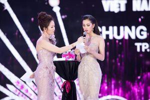 Tân Hoa hậu Việt Nam 2018 Tiểu Vy ấp úng trong phần thi ứng xử