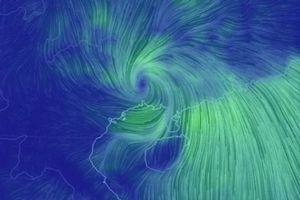Dự báo mới nhất về bão MANGKHUT và mưa lớn ở miền Bắc