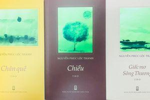 Ra mắt 3 tập thơ của nhà thơ Nguyễn Phúc Lộc Thành