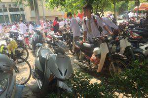 Báo động tình trạng học sinh sử dụng xe máy