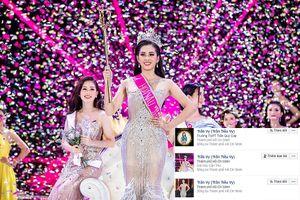 Cảnh báo Facebook giả mạo tân Hoa hậu Trần Tiểu Vy